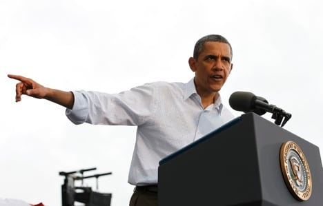 Obama gets top feedback from Germans