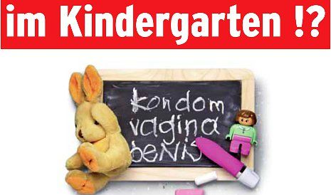 Swiss Post blocks 'porn' booklet for 4-year-olds