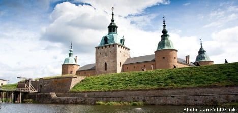 Swedish castles with sizzle: a sampler