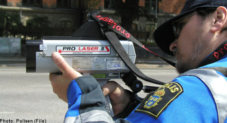 Loophole may make speeding legal in Sweden