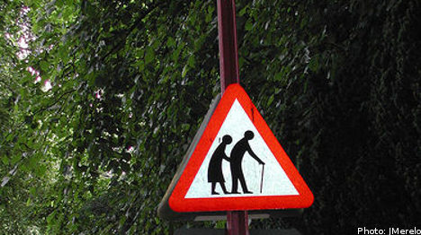 Swedish 'baby boomer' crime on the rise: agency