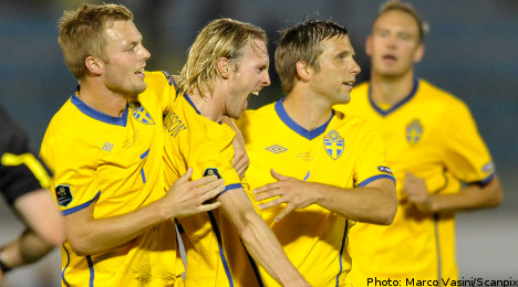 Sweden to face England at Wembley