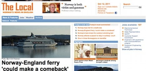Catch up with the neighbours: The Local launches in Norway