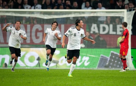 Germany complete perfect campaign