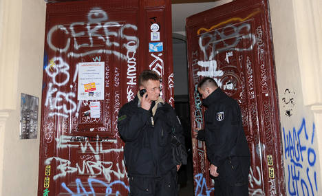 Anti-gentrification protesters disrupt Berlin luxury property tour
