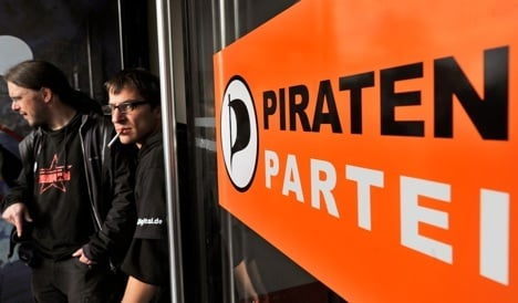 Support for Pirate Party surges nationwide