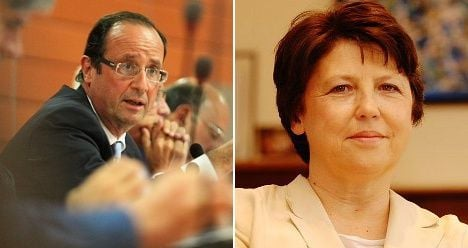 French Socialist rivals turn up heat after debate