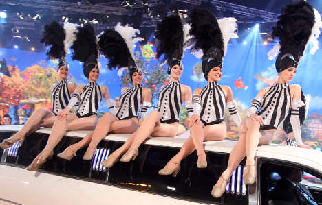 TV dancers performed for Chechen leader
