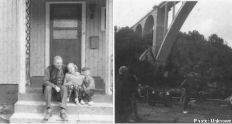 UK pair seeks clues about mysterious Swedish photos
