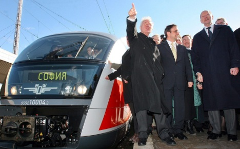 German bank reclaims 50 trains from Bulgaria over payment row