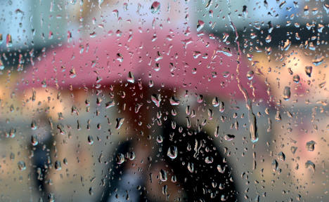 Soggy weather replaces Indian summer