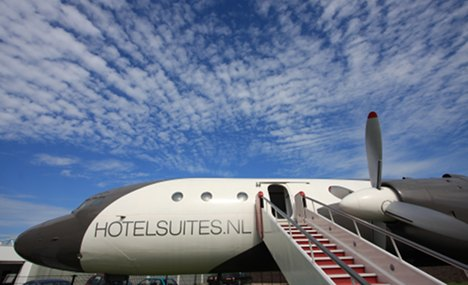 Honecker's plane gets new lease of life as luxury hotel