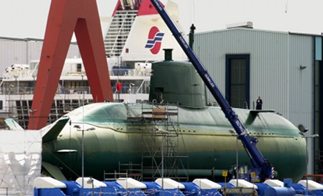 Government reconsiders Israel sub sale