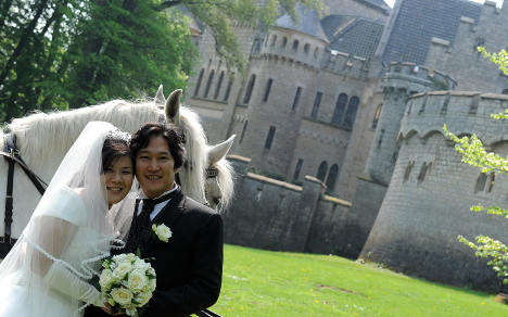 Finding the fairytale wedding setting