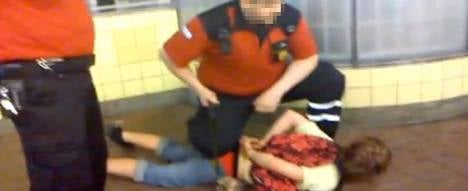 Outrage over handcuffing of 12-year-old boy