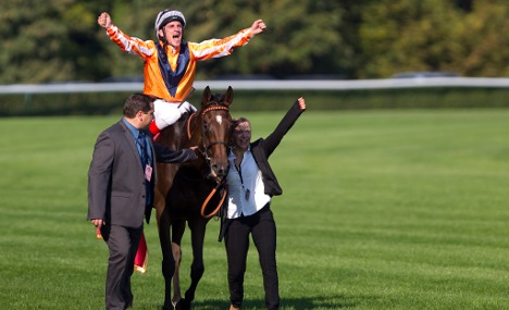 Big win for German race horse in France