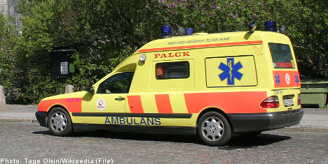 Ambulance call death trial opens in Stockholm