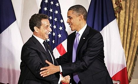 Sarkozy and Obama to give joint interview