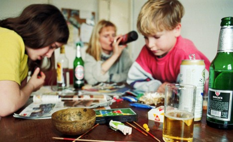 One in five German children have alcoholic or drug-addict parents