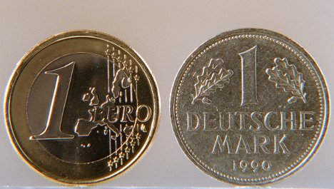 German identity – cemented in the euro