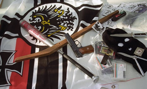 800 weapons taken from neo-Nazis in two years