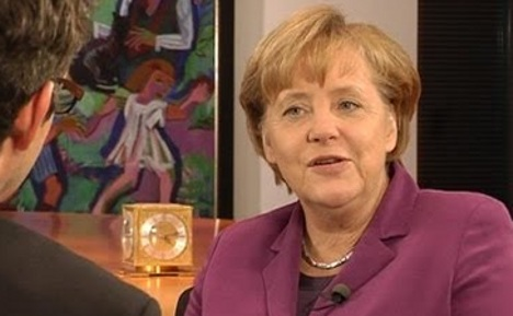 Merkel answers public's questions on YouTube