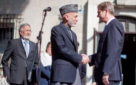 Westerwelle prepares for Afghan conference