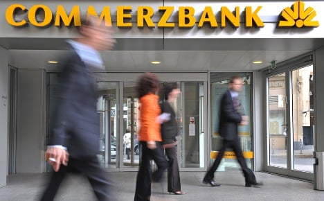 Commerzbank ditches targets on Greek losses