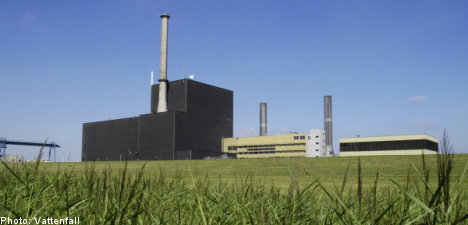 Vattenfall suing Germany over nuke phaseout