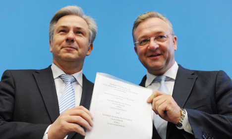 City of Berlin gets 'grand coalition' government