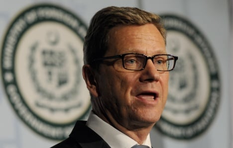 Westerwelle condemns Middle East violence