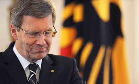 Wulff apologises for personal finance faux pas