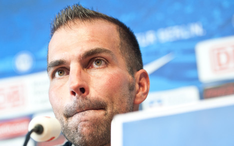 Babbel booted out of Hertha Berlin