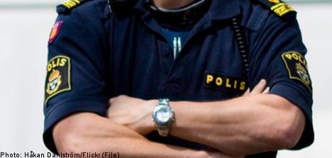 Swedish cop filmed naked female colleagues