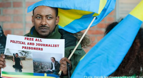 Sweden looks to US, EU to help jailed reporters