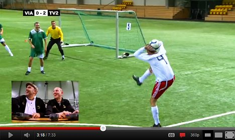 Norwegian football players trained with electric shocks