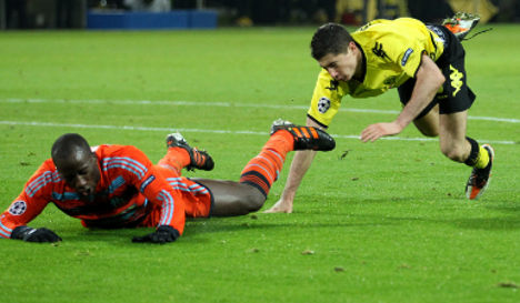 Marseille toss Dortmund out of Champions League