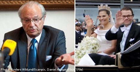 Swedes lose faith in the King: poll