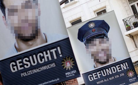 Suspected thief made police recruitment poster boy