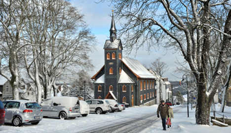 White Christmas likely in southern Germany