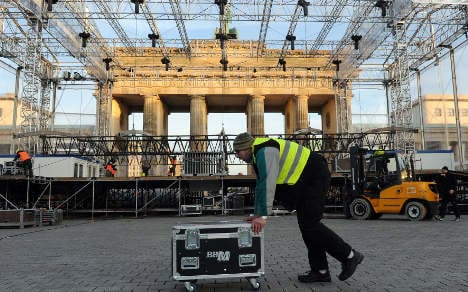 A million expected at Berlin's party