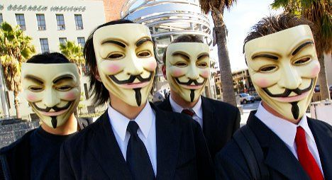 Swiss data hacked in 'Anonymous' attack