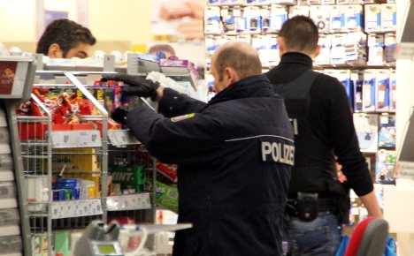 Grenade disguised as toy left on supermarket shelf
