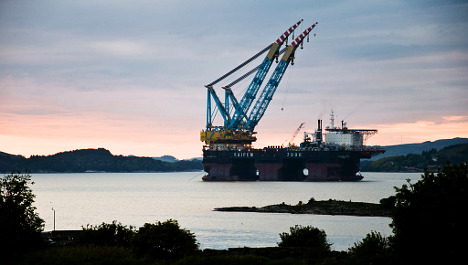 Norway oil production to shrink in 2012