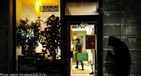 Immigrant homelessness on the rise in Sweden