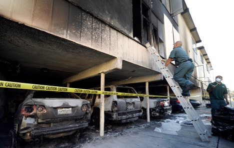 Hollywood arsonist accused of 100 fires