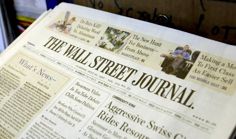 Wall Street Journal launches German edition