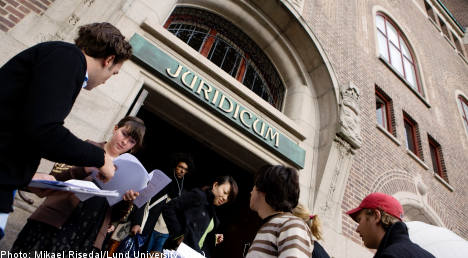 Foreign applications to Swedish unis rebound