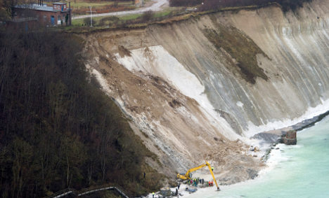 Body of girl lost in Baltic landslide found
