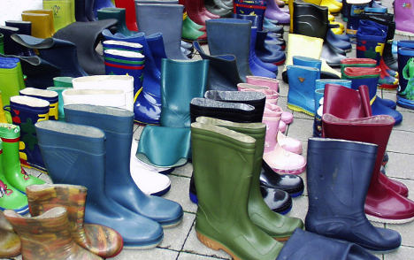 Stinky rubber boot fire puts 50 in hospital